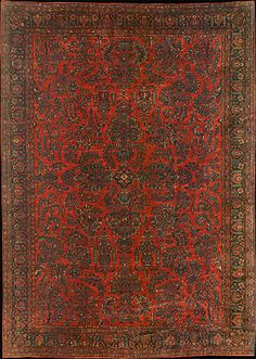 You can never, let me repeat that..NEVER, go wrong with a great Persian rug.