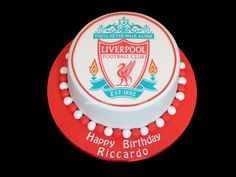 Pat-a-Cake Parties: Liverpool FC Cake