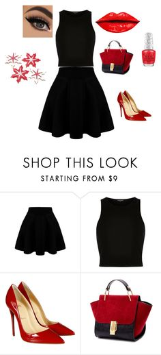 """""""Untitled #81"""" by suad-nisveta-mesic ❤ liked on Polyvore featuring beauty, River Island and Christian Louboutin"""