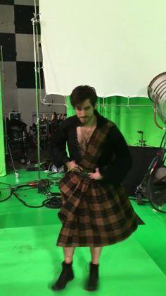 Colin O'Donaghue in a kilt!