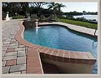 The main benefit of brick driveway pavers is safety. These pavers made from brick are great to use near swimming pools because the area will be wet a lot. Other types of materials can be very hazardous when they are wet.