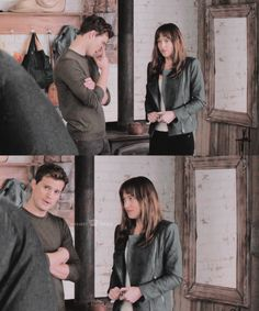His Face. Then her face. :: #FiftyShades #JamieDornan