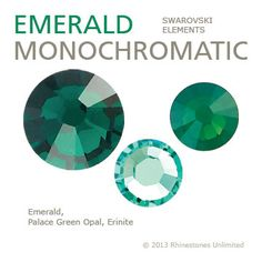 Rhinestones Unlimited   2013 Emerald!