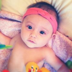 Knotted Jersey Headband DIY cute little baby!!!