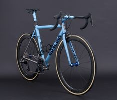 Custom Busyman Bicycles Leatherwork on: GTH Solid, Duck Egg Blue, Deep Crystal Blue, Corretto Speed Bike, Great Inventions, Bicycle Race, Duck Egg Blue, Bike Frame, Road Bikes, Custom Bikes, Leather Working, Transportation