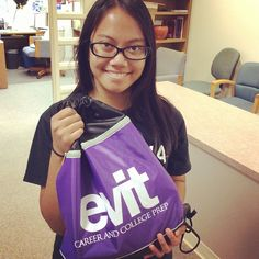 """""""I am a future nurse."""" Congratulations to @samurai00768 for being one of the winners of the #evitselfie #evitphotochallenge a couple weeks ago! #weareevit"""