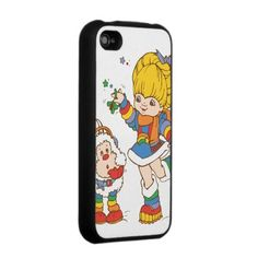 Rainbow Brite & Twink Iphone Skin from http://www.zazzle.com/hallmark+iphone+cases