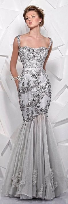 Evening Dresses, Prom Dresses, Formal Dresses, Bridal Gowns, Wedding Gowns, Full Gown, Tony Ward, Bridal Fashion Week, Gowns With Sleeves