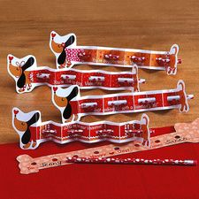 Valentine Pencil Dogs