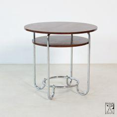 Round tubular steel table 30s - ZEITLOS – BERLIN