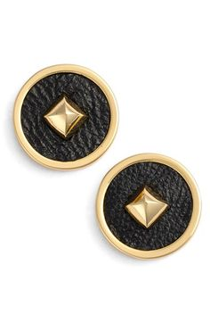 Rachel Zoe 'Prestley Pyramid' Stud Earrings available at #Nordstrom