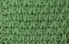 My Tunisian Crochet: Tunisian Simple / Slanted Stitch