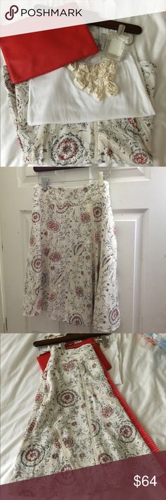 Ann Taylor skirt , beautiful print, New never worn Open to offers on this beautiful piece .. Ann Taylor Skirts Maxi