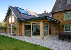 Residential architects in Shipston-on-Stour, Warwickshire, with experience of new build, extensions, conversions and listed buildings. Building Extension, Glass Extension, Rear Extension, Extension Ideas, Listed Building, Building Plans, Building A House, Bungalow Extensions, House Extensions