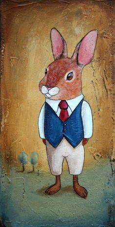 Rabbit boy - conejo SOLD