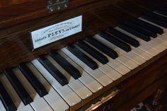 Le piano de Nohant acheté en 1849, un Pleyel en souvenir de Chopin. Les soirs d'été, à Nohant par les fenêtres et les portes de la salle à manger ouvertes, on pouvait entendre du jardin, Liszt ou Chopin jouer au piano.
