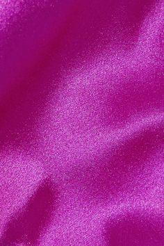 Fleur Du Mal - Stretch-silk Satin Thong - Grape - 3