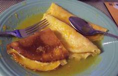 Receita de Crepe suzette
