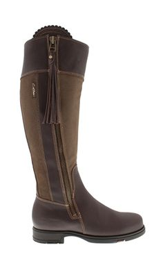 32938823318 Luxe Fit Brown Khaki Waterproof Country Knee-High Boots - Natasha