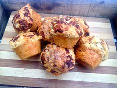 Marmite and Cheese Muffins! Delicious!