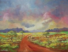Buy CLOUDY LANDSCAPE (800mm x 600mm x 30mm)for R3,000.00