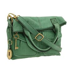 green fossil purse..cute and in my fav color!