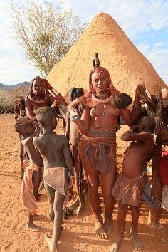 HIMBAS NAMIBIA   Olivier DARMON   Flickr