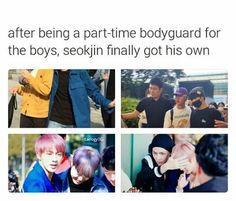 Jin's bodyguard^.^