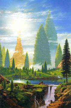 The Lamp of the Valar - Ted Nasmith