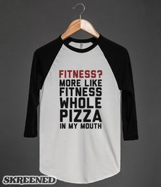 Pizza Fitness? | Fitness? More like fitness wole pizza in my mouth #Skreened