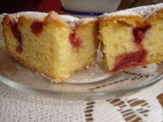 """Przepis """"Ciasto z truskawkami pychota"""" autorstwa kamila1234"""