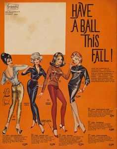 Have a Ball This Fall   1963 Frederick's of Hollywood catalog