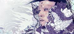 PARANOIDME / Diego L. Rodriguez #illustration #purple