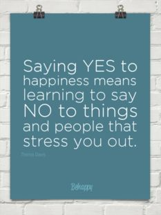 say yes to #happiness