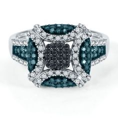 This ring is so unique...on my wish list!