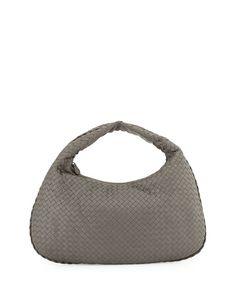 fb0e1a3ea0b7 Veneta Intrecciato Large Hobo Bag