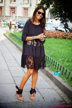 Viviana Volpicella in Moschino f/w 2010-11 by Rosella Degori, via Flickr