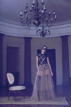 Retro styling & lavish lingerie create one iressistible fantasy