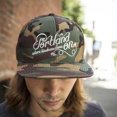 Portland, Oregon Where Kindness Lives Classic Hat