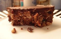 Chocolate and Ginger Tiffin