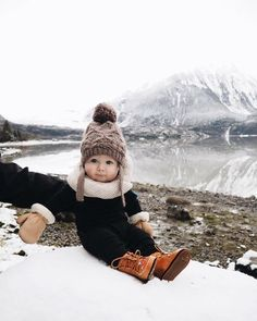 cutest winter baby ever