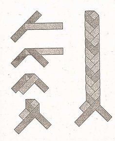 Плетение из соломки - от деда Василия. Плетежок-трехконцовка и стадии его плетения