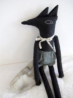 wolf doll {Lucille Michieli}