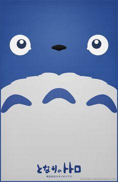 Totoro Poster - Chu Totoro by Nortiker.deviantart.com on @deviantART