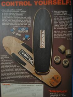 1979 Variflex Ten Boulder Board - Had this board as a kid. My brother brought it back to GA from CA when he was in the Navy. Skateboard Grip Tape, High School Fashion, Vintage Skateboards, Skate And Destroy, Skate Art, Junior Year, School Style, Stone Age, Message Board