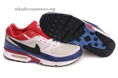 check out 59c66 4e258 ... new style nike air max classic bw men shoes cream blue black logo 79ccb  0c820
