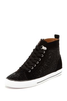 Evonne Embellished High Top Sneakers//