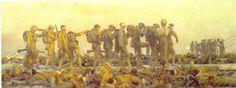 John Singer Sargent(1856ー1925)「Gassed(Los Gaseados)」(1918)