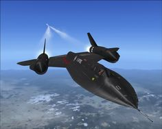 I love this aircraft, the SR-71