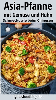 Easy Asian Recipes, Healthy Pasta Recipes, Healthy Pastas, Vegetarian Recipes, Sin Gluten, Eating Habits, Quick Easy Meals, Easy Dinners, Dinner Recipes